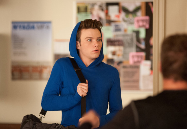 "GLEE: Kurt (Chris Colfer) joins an extracurricular class in New York in the ""Sadie Hawkins"" episode of GLEE airing Thursday, Jan. 24 (9:00-10:00 PM ET/PT) on FOX. ©2013 Fox Broadcasting Co. CR: Eddy Chen/FOX"