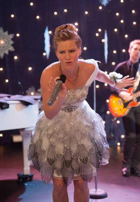 "GLEE: Brittany (Heather Morris) performs in the ""Sadie Hawkins"" episode of GLEE airing Thursday, Jan. 24 (9:00-10:00 PM ET/PT) on FOX. ©2013 Fox Broadcasting Co. CR: Eddy Chen/FOX"