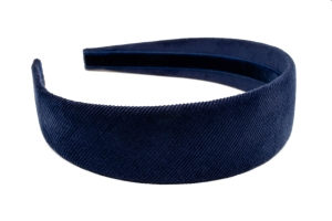 Midnight Pinwale Headband